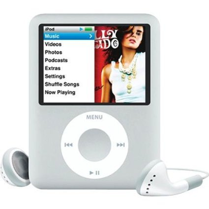 US $28 99 |SILVER FOR IPOD nano 3 3th Generation 8GB FM VIDEO E Book MP4  MUSIC PLAYER FREE SHIP A variety of language-in MP4 Player from Consumer
