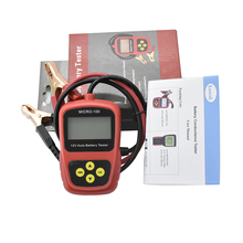 Professional Lancol 12V Car Battery Capacity Tester MICRO 100 Digital Battery Diagnostic Tool For Bad Cell