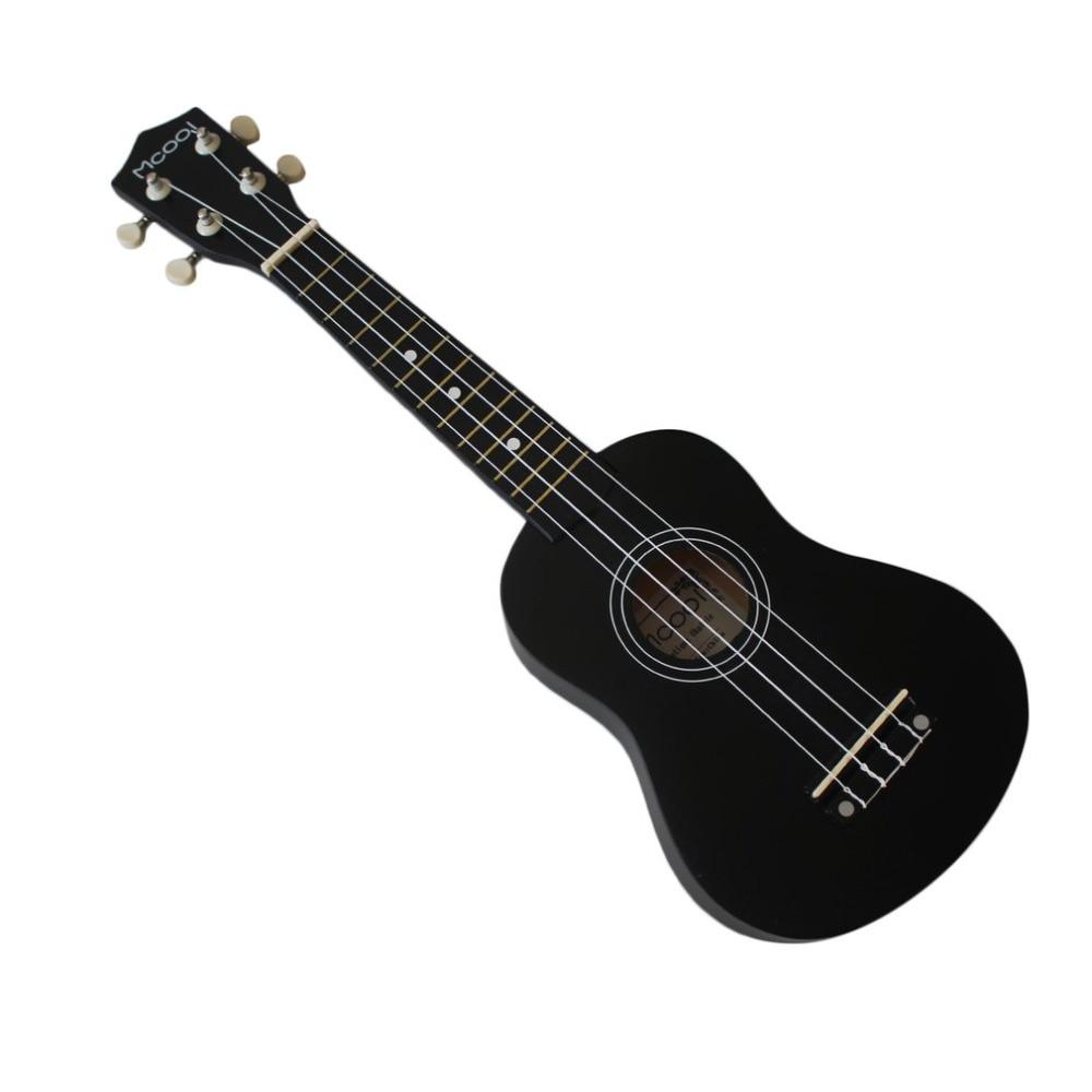 TSAI Mini Portable 21 inch Basswood 4 Strings Ukulele Hawaii Guitar Musical Instruments For Beginner For
