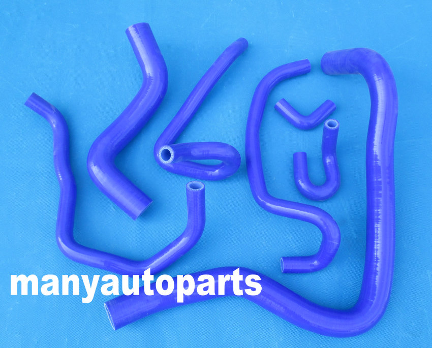Silicone Radiator Hose Clamps Kit Blue For Honda Accord CF4 CL1 1997 1998 1999 2000