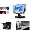 4 Sensors Buzzer LCD Digital Screen Monitor Parking Sensor Kit Display 22mm Car Reverse Radar Parking Assistance System 12V