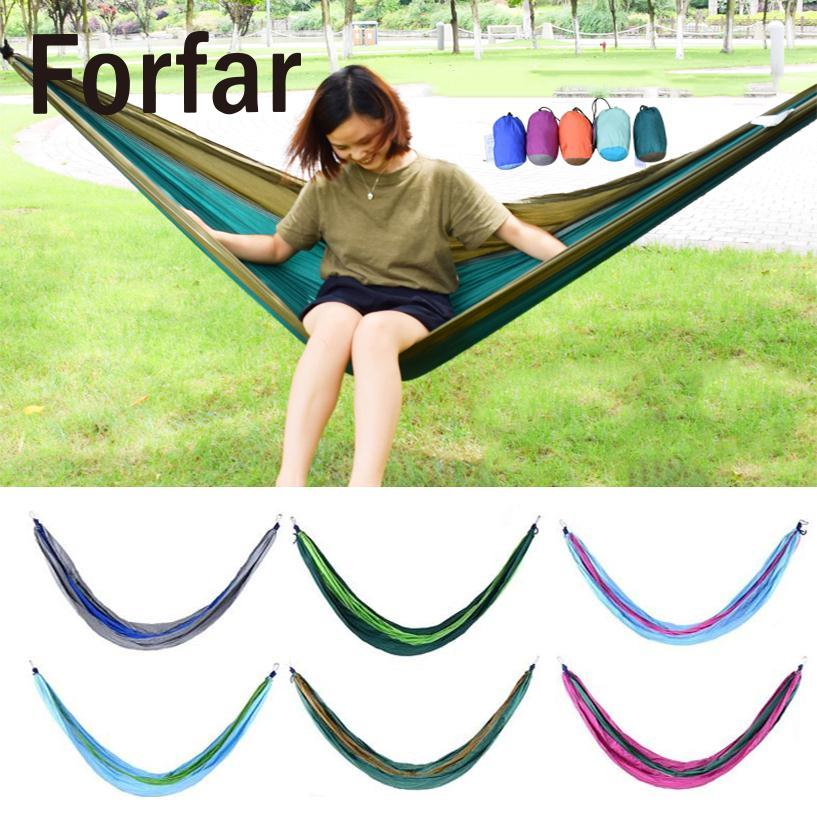 High Strength Nylon Parachute Nylon Fabric Camping Parachute Hammock Strong Rope for Camping Hiking Travel Swing Sleeping Bed