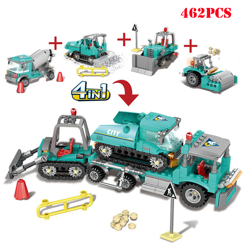 4-in1-City-Engineering-Construction-Excavator-Vehicles-Truck-Building-Blocks-Compatible-Technic-City-Bricks-Toys-For (1)