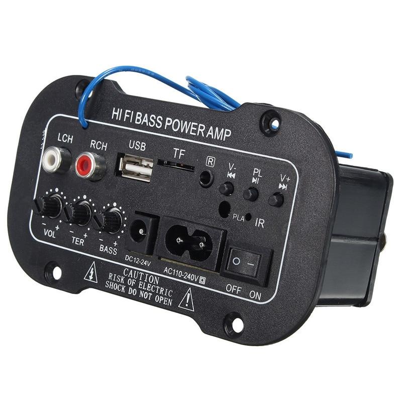 חדש 30 W מגבר לוח אודיו Bluetooth Amplificador USB dac FM רדיו TF נגן סאב DIY מגברים עבור MotorcycleCarHome