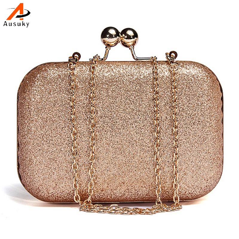 Avondtasje Lady Vrouwen Partij Wedding Glitter Chain Kristal Dag Clutch Portemonnee Bruiloft Purse Party Banket Elegante Schoudertas Pure Witheid