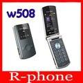 W508 Оригинальный Sony Ericsson W508 Разблокирована Мобильный Телефон 3 Г МП Bluetooth MP3 Плеер Бесплатная Доставка