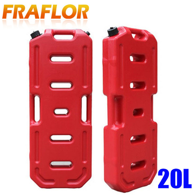 20L Litre Petrol Jerry Cans Plastic Motorcycle Gasoline Fuel Tank Mount Lock 5 Gallon Gas Can Petrol Jerrycan Jerrican Container