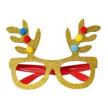 4aad48849 (سفينة من US) ميلاد سعيد نظارات عيد الميلاد 1 قطعة نظارات عيد الميلاد ثلج  إطار سنة جديدة سعيدة الاطفال الحسنات عيد الميلاد هدية حزب ديكور أفضل.