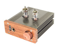 6J1 Single Ended Class A Tube Headphone Amplifier Hi Fi Pre Amplifier High Fidelity Volume Output