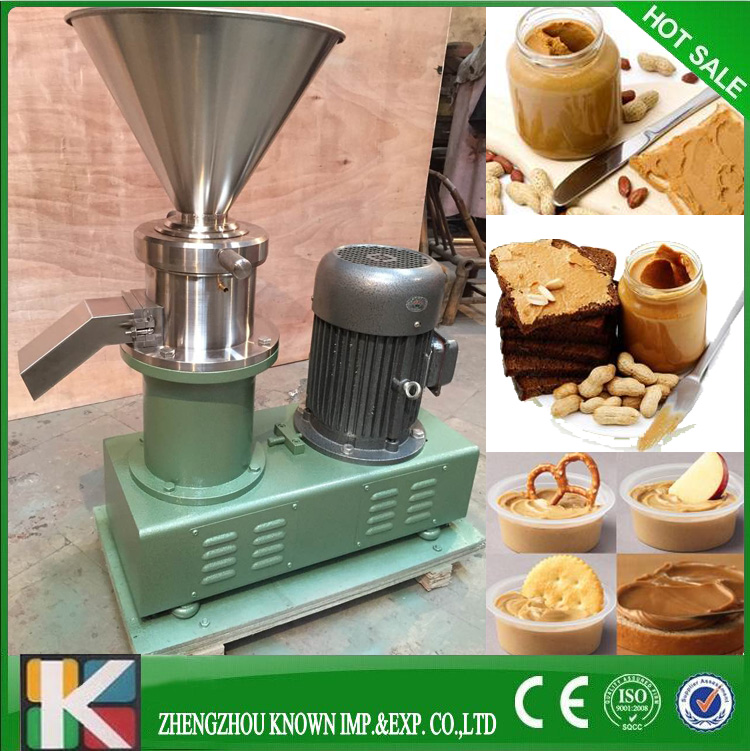 High capacity peanut butter colloid mill/food processing colloidal mill economic emulsifying colloid mill jm