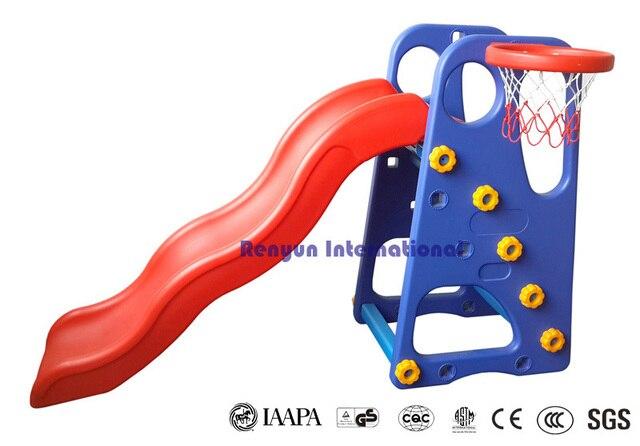 Plastic Slide Children Indoor Play Equipment Kids Garden Toys Backyard  Playground
