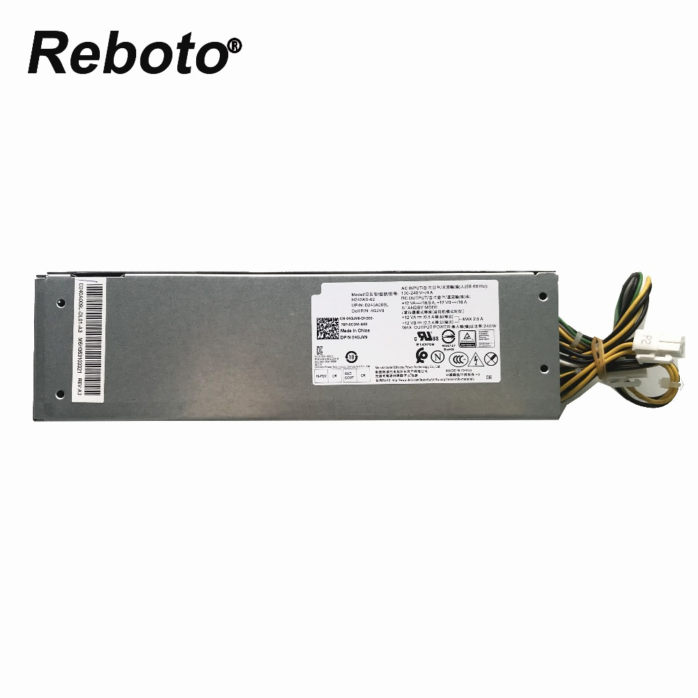 Original FOR DELL 3050 5050 7050 Series Power Supply L240AM 02 B240AM 02 H240AS 02 4GJV9
