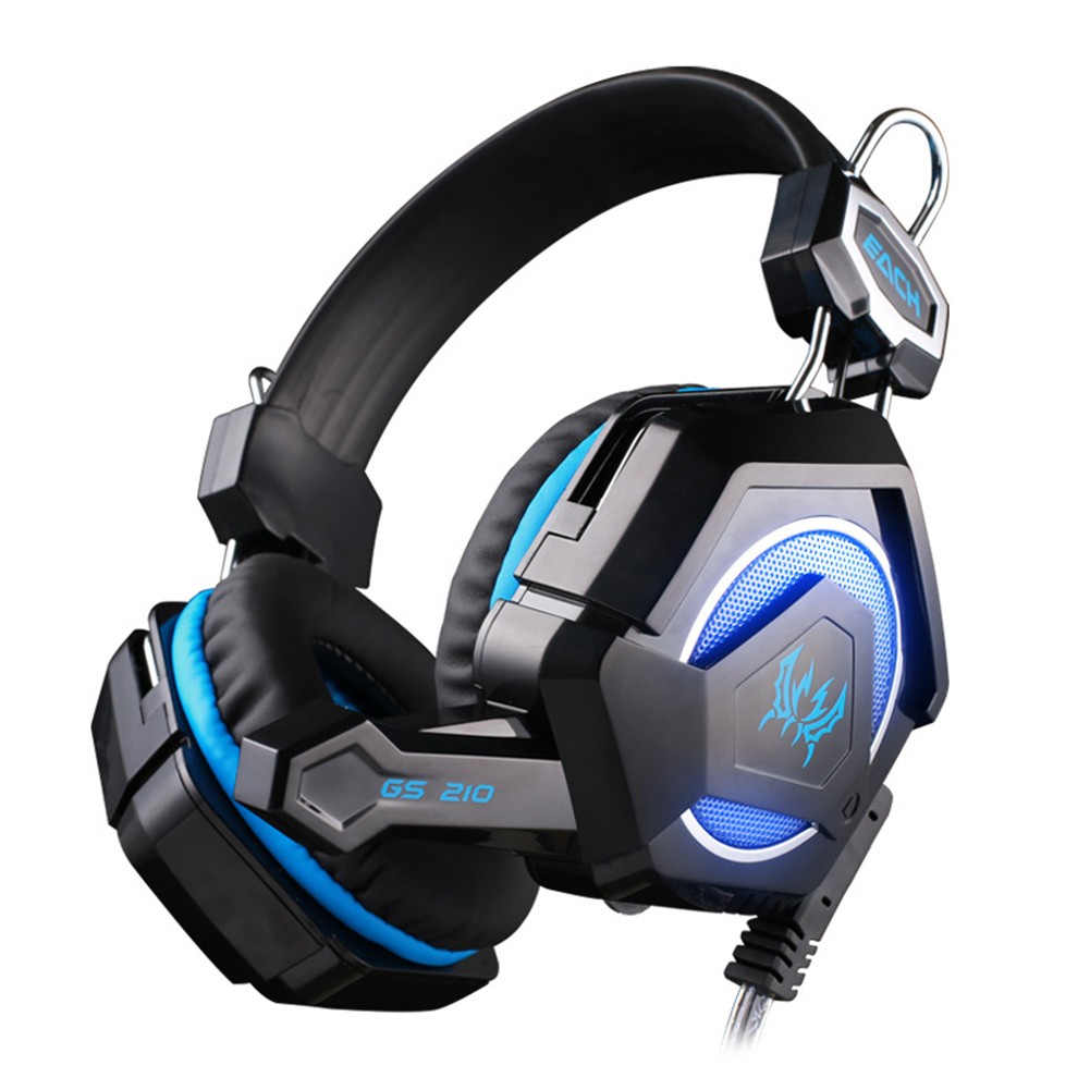 YCDC Laptop Tablet PS4 Mobile Phones Xiaomi KOTION EACH G9000 3.5mm Game Gaming Headphone Headset Earphone With Mic LED Light