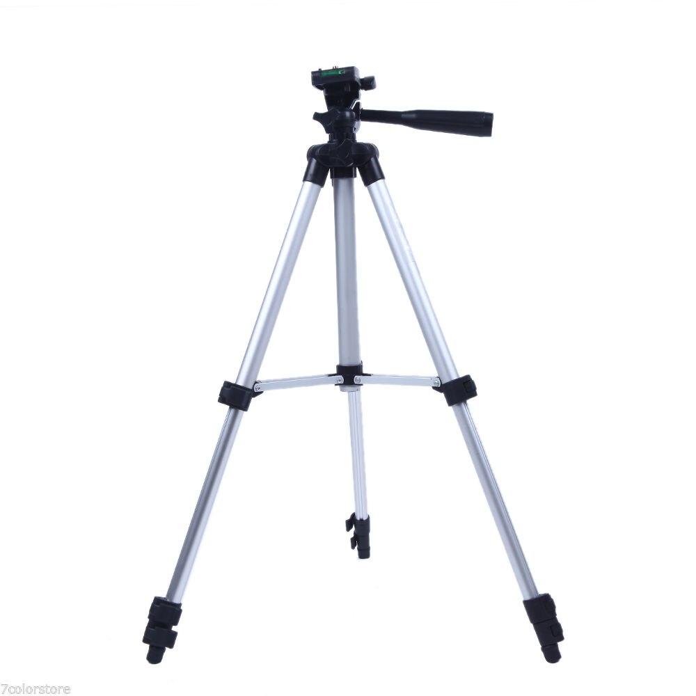 NEW Pro Camera Tripod Lightweight Flexible Three-way Head for Canon Nikon DSLR