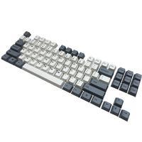 87 PBT Keycaps 87 Keyset Dye Sub Cherry MX Key Caps Top Print/Cherry Profile/ANSI Layout for TKL 87 MX Switches Mechanical Keyboard (4)