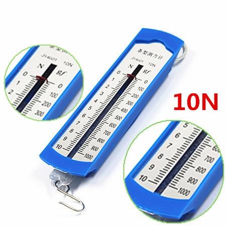Wholesale Newton Meter,Force Meter,1N / 2.5N / 5N / 10N Dynamometer,Plastic Tubular Spring Balances,Physics Lab Experiment
