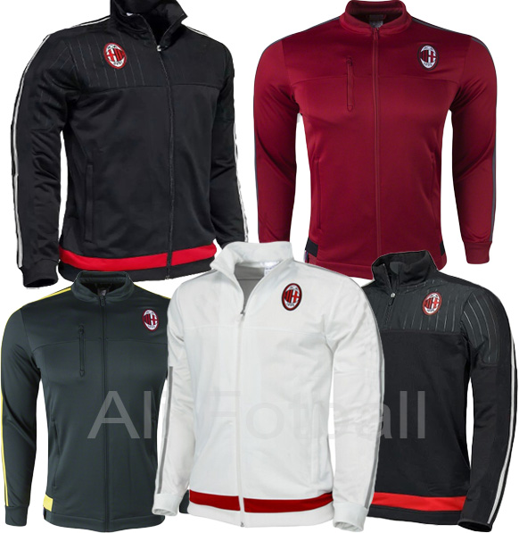 79f62c449430d survetement football ac milan 2015 16 soccer training jacket AC milan  football jacket chandal 2016 ac milan sweatshirts en Camisetas de fútbol de  Deportes y ...