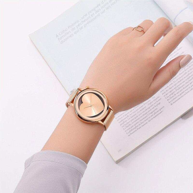 2018 Hot Sale Luxury brand women watches Lvpai Women's Casual Quartz Steel Mesh Band Watch Analog WristWatch moda mujer reloj 21 4