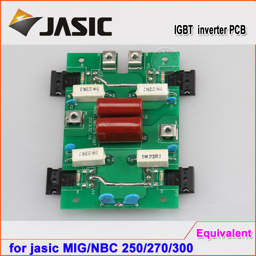Free shipping MIG 250 270 NBC250 300 inverter pcb for jasic type CO2 welding machine