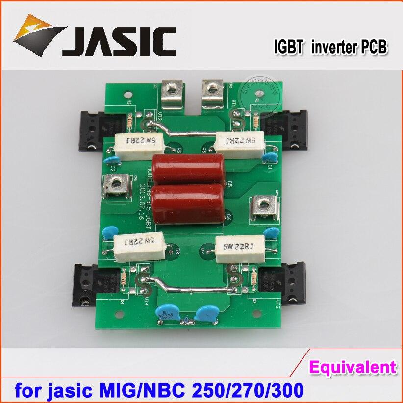 Frete grátis MIG 250 270 / NBC250 / 300 inversor pcb para jasic tipo CO2 máquina de solda