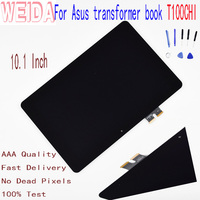 WEIDA 10.1 ''עבור Asus שנאי ספר T100CHI T1 צ 'י T100Chi T1Chi LCD תצוגת לוח מגע מסך Digitizer עצרת-בפנלים וצגי LCD לטאבלט מתוך מחשב ומשרד באתר