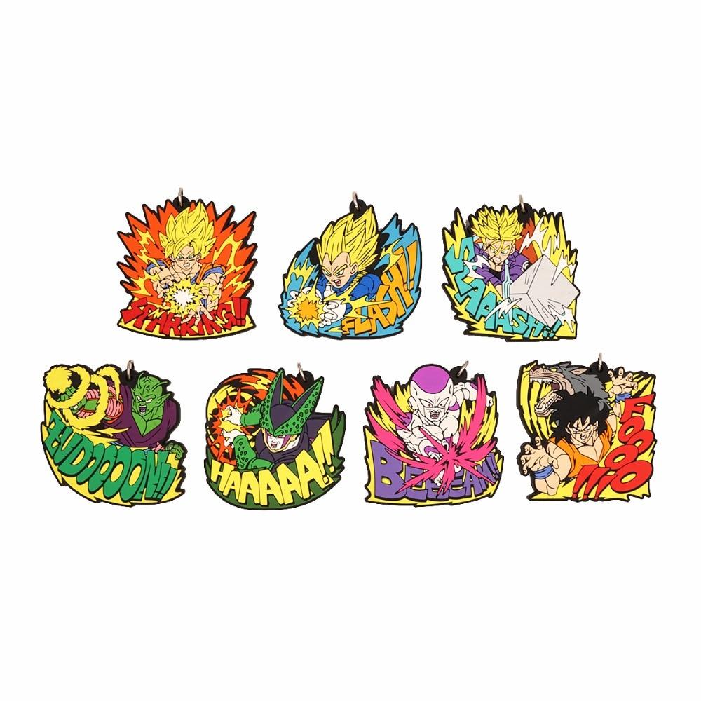DRAGON BALL Anime Son Goku Vegeta Piccolo Torankusu Frieza Cell Yamcha Rubber Strap KeychainDRAGON BALL Anime Son Goku Vegeta Piccolo Torankusu Frieza Cell Yamcha Rubber Strap Keychain