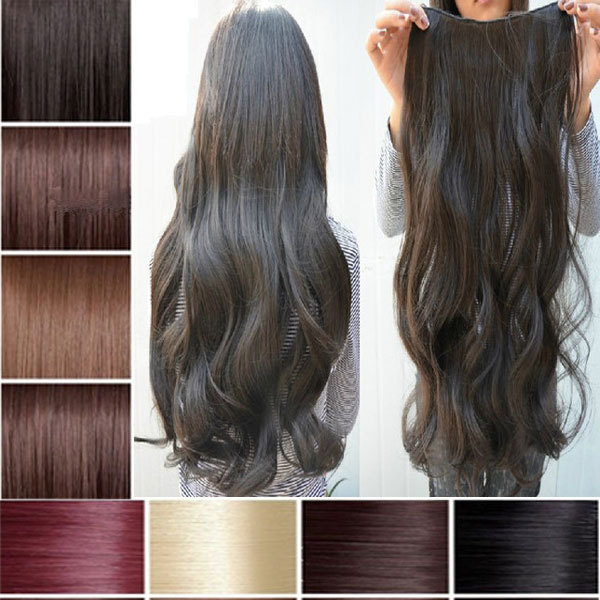 Us uk seller professional 34 full head clip in hair extensions 24 us uk seller professional 34 full head clip in hair extensions 24 curly pmusecretfo Image collections