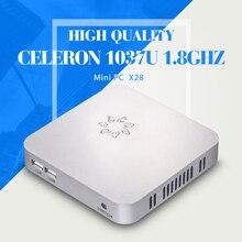 Высокое качество с wi-fi и микро-hdmi C1037U 2 г оперативной памяти 32 г ssd окна wi-fi мини настольный компьютер тонкий клиент