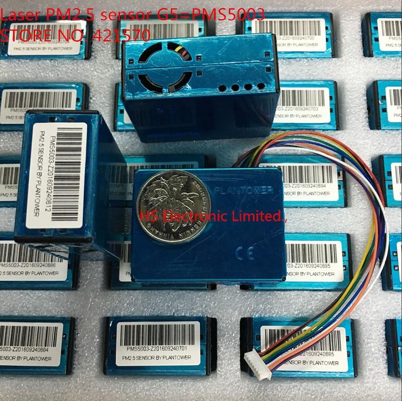 PMS5003 High precision laser pm2 5 air quality detection sensor module Super dust sensors test PM2