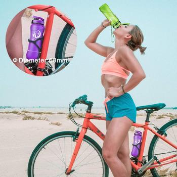 ZORRI Gym Bottle Protein Shaker Sports Waterbottle Outdoor Bicycle Cross-country Tour Adult/Kids Water Bottle botellas para agua 5