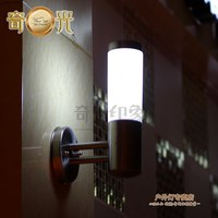 Stainless Steel Wall Lamp Indoor Outdoor Brief Sconce Led Outdoor Waterproof Balcony Gazebo Led Porch Light