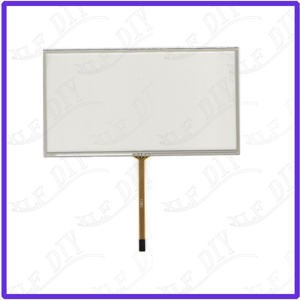 ZhiYuSun For AVH-8400BT Compatible 7inch Touch Screen Glass 4 Lines  Resistive USB Touch Panel Overlay Kit  TOUCH SCREEN
