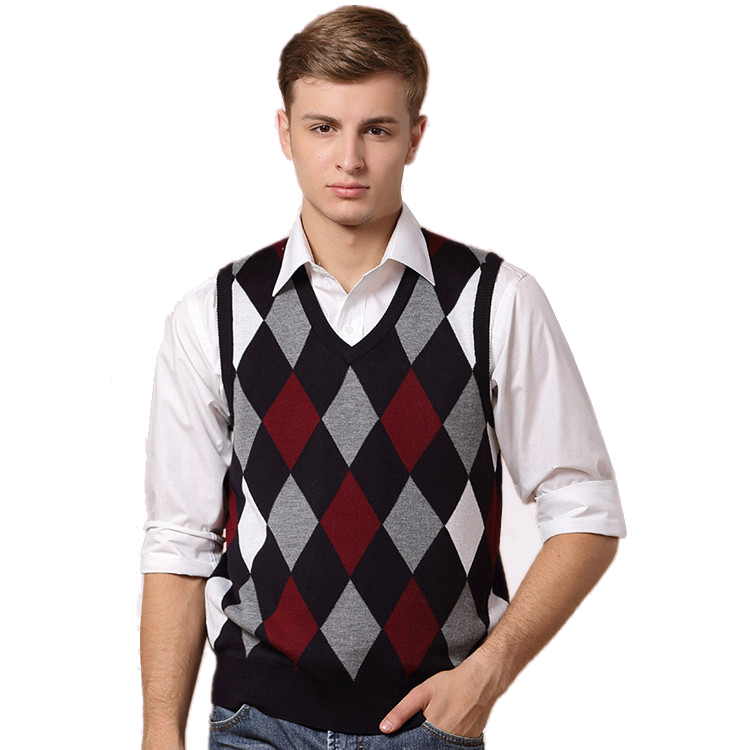 Popular Orange Sweater Vest for Men-Buy Cheap Orange Sweater Vest ...
