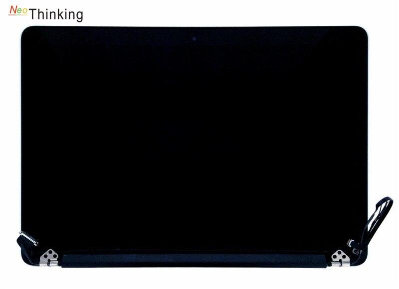 NeoThinking 15.4 ''מלא עצרת עבור APPLE Macbook Pro A1398 מחשב נייד LCD מסך Digitizer זכוכית החלפת משלוח חינם