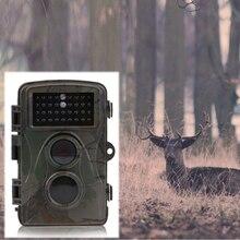 Buy online 32GB 3 Sensitivity Digital Hunting Camera 2.4 Inch Waterproof 70 Degree Infrared Night Vision Camera Hunting Accessories