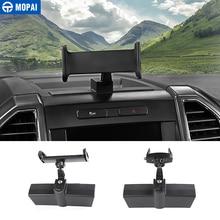 MOPAI רכב GPS נייד טלפון Ipad מחזיק סוגר הסלולר Stand מדבקות עבור פורד F150 2015 Up פנים אביזרי רכב סטיילינג
