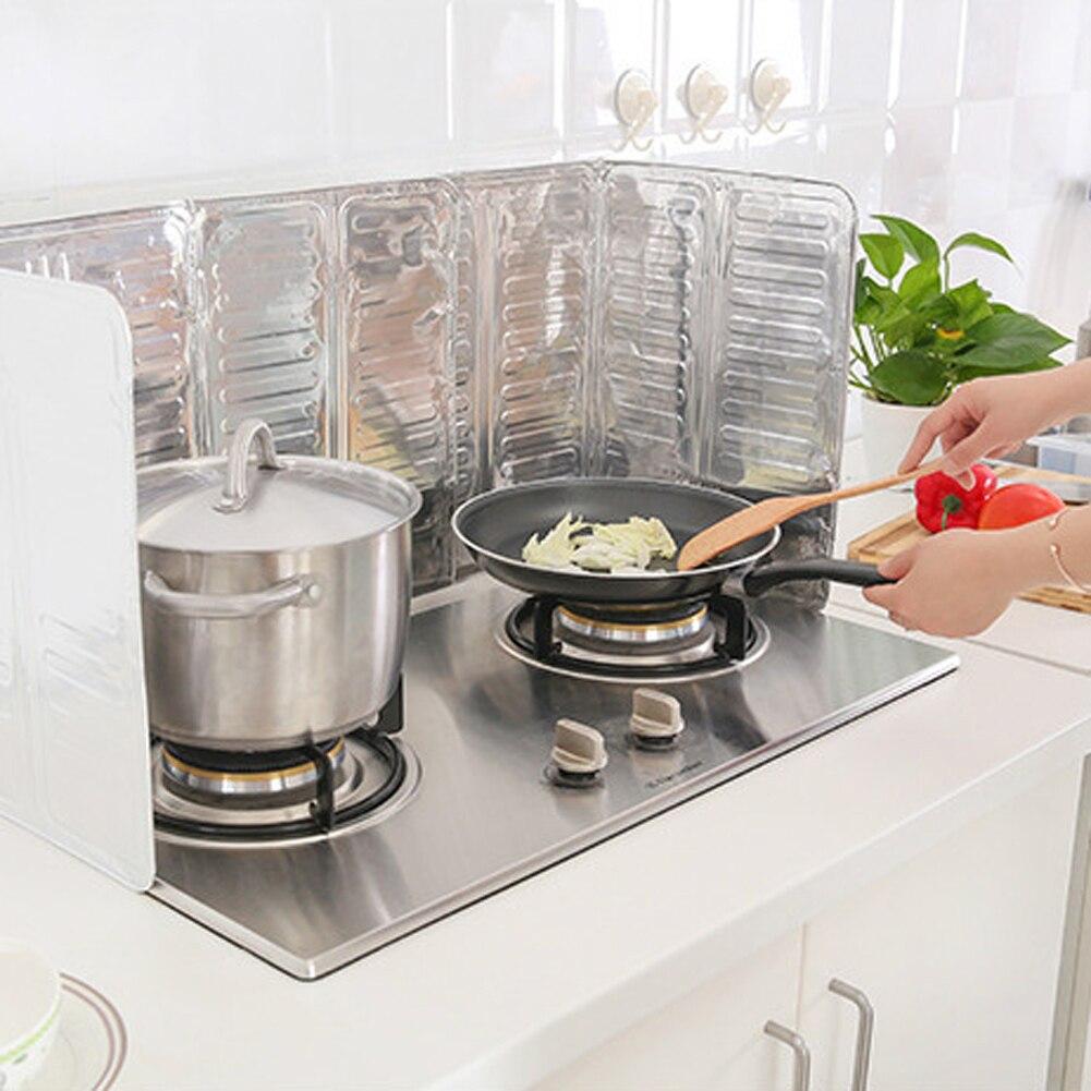 ᑐAluminio Aceite protector contra salpicaduras cocina cocinar ...