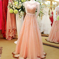 Luxury Gorgeous Crystal Evening Party Dresses Pink Real Engagement Prom Dresses Custom Made vestidos de festa vestido curto