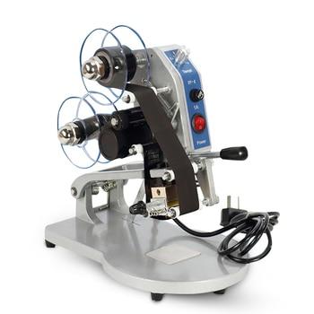 цена на DY-8 Manual Direct Thermal Hot Foil Stamping Coding Printer Date Ribbon Coder Machine 220V