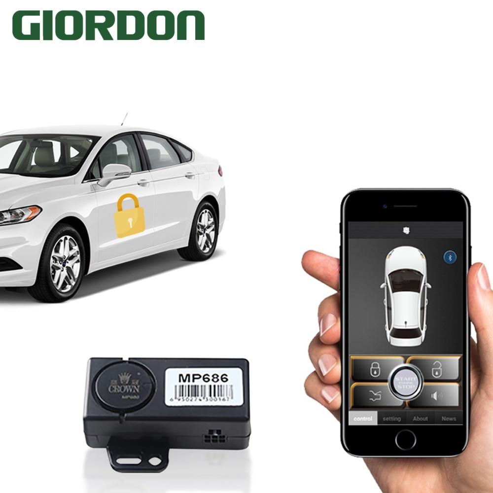 Universal central car door locking system series Car Central Locking Keyless Entry smart remote ca Burglar Alarm     - title=