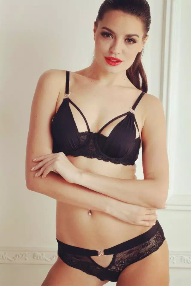 05ceb4615f350 2015 New Fashion Summer Style Lace Bra Brief Set Hot Underwear Women Brand  Sexy Push up Bra Set High Quality Lingerie Set 32-38
