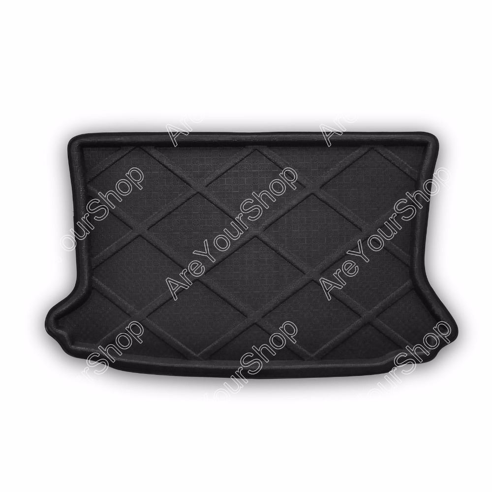 Car Auto Cargo Mat Boot liner Tray Rear Trunk Sticker Dog Pet Covers For Ford Ecosport 2013-2014 New Arrival Car-Covers Sticker car rear trunk security shield cargo cover for volkswagen vw tiguan 2016 2017 2018 high qualit black beige auto accessories