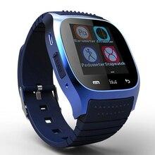 Top Qualität M26 Smart Uhr Bluetooth smartwatch mit Led-anzeige Barometer Alitmeter Schrittzähler für Android XiaoMi Telefon