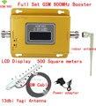 13db yagi + pantalla LCD! potenciadores de la señal del teléfono móvil GSM 980 900 mhz, GSM 900 repetidor de señal de teléfono celular gsm amplificador de la señal