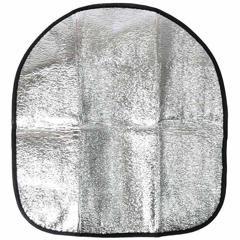 Silver Aluminum Film Car Steering Wheel Shade Cover Sunshade Reflective Sun Protection Protector Top Selling Sun Shade Cover  - buy with discount