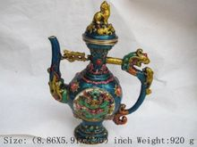 Ming xuande years in ancient China, the eight immortals cloisonne teapot цена