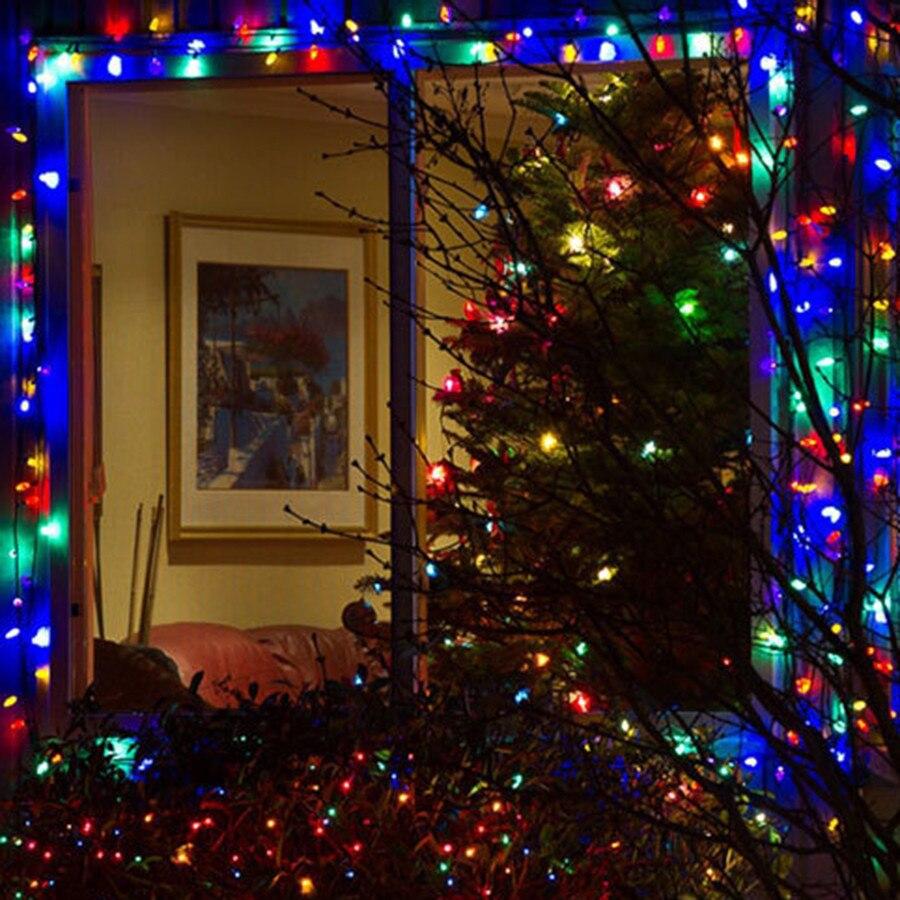 Beiaidi 52 м 500LED Солнечный свет Строка Фея Света Солнечный свет строка Открытый Фея Света для Рождество Свадебная вечеринка Декор