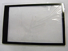 New LCD Screen Window Display (Acrylic) Outer Glass For FUJI HS20 HS22 HS25 HS30 HS35 Screen Protector + Tape