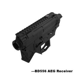 Nylon BD556 Airsoft Empfänger für AEG Körper Metall Gel Split Airsoft Getriebe Paintball Gun Fall-Freies Verschiffen