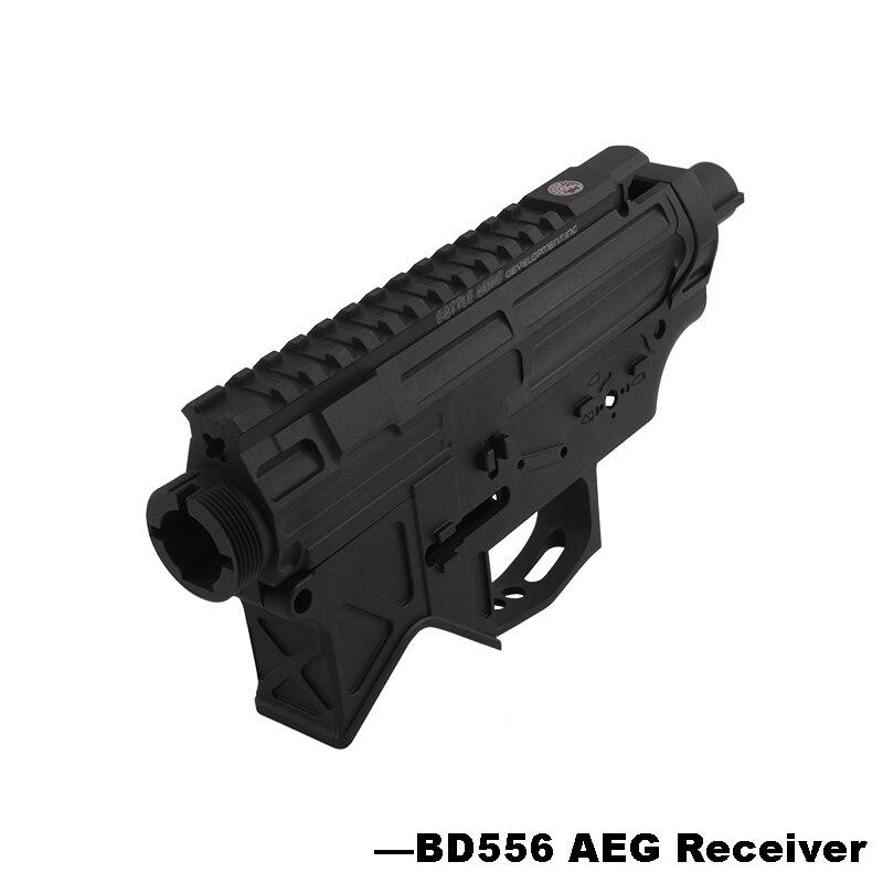 Nylon BD556 Airsoft récepteur pour AEG corps métal Gel Split Airsoft boîte de vitesses Paintball étui à pistolet-livraison gratuite